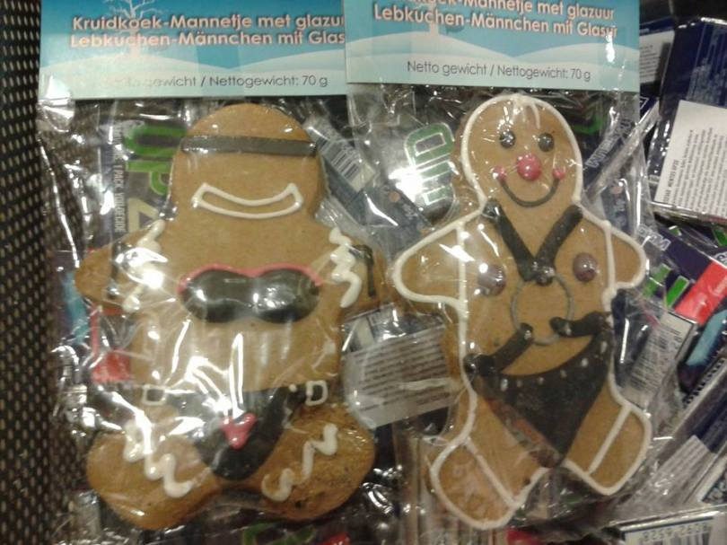 Gingrbread cookies - BDSM style